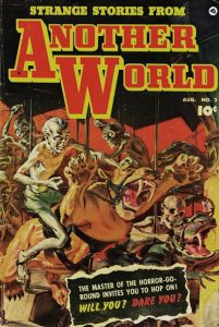 strange stories from another world horror comic book