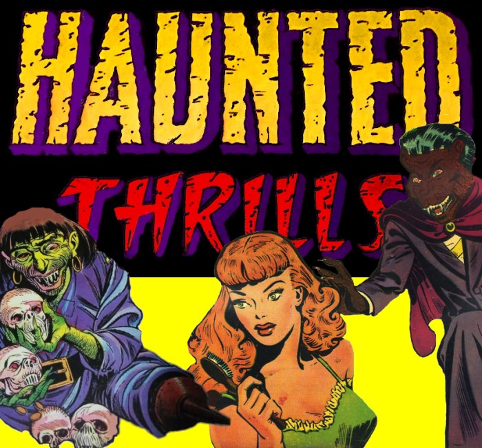 precode horror comics documentary haunted thrills
