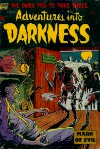 pre code horror comic books