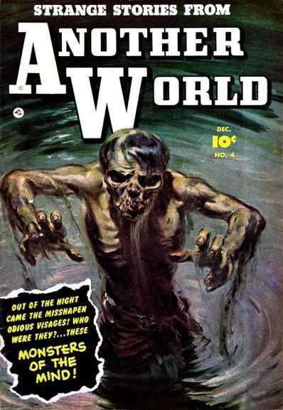 Fawcett pre-code horror comic books