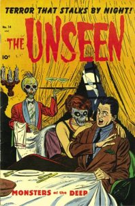 pre-code horror comic book The Unseen