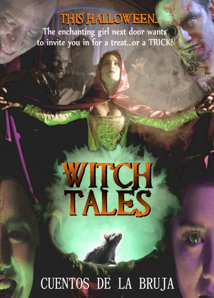 2020 Halloween Anthology Pre Code Horror Anthology WITCH TALES (2020) Blu Ray and VOD